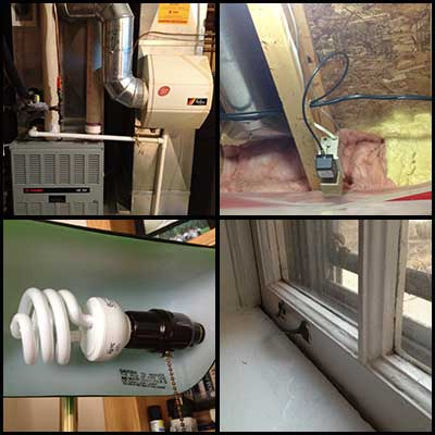 Home Energy Audit - Green Home Builders Center Point, Iowa