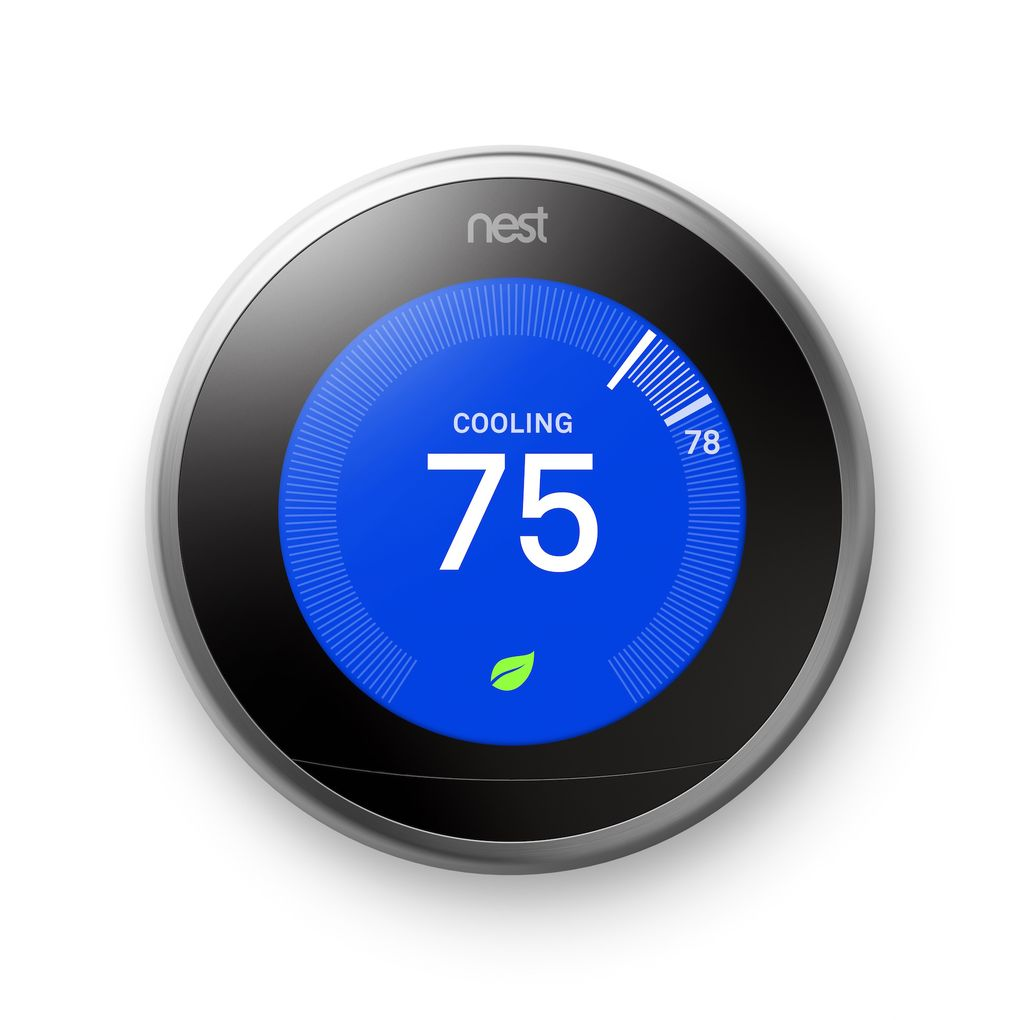 Nest Thermostat - Green Home Builders Pleasantville, Iowa